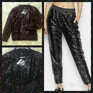 Nwt Small vsx limited edition sequin set